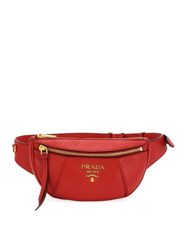 409fd8b20abcdb Prada Daino Belt Bag | Neiman Marcus