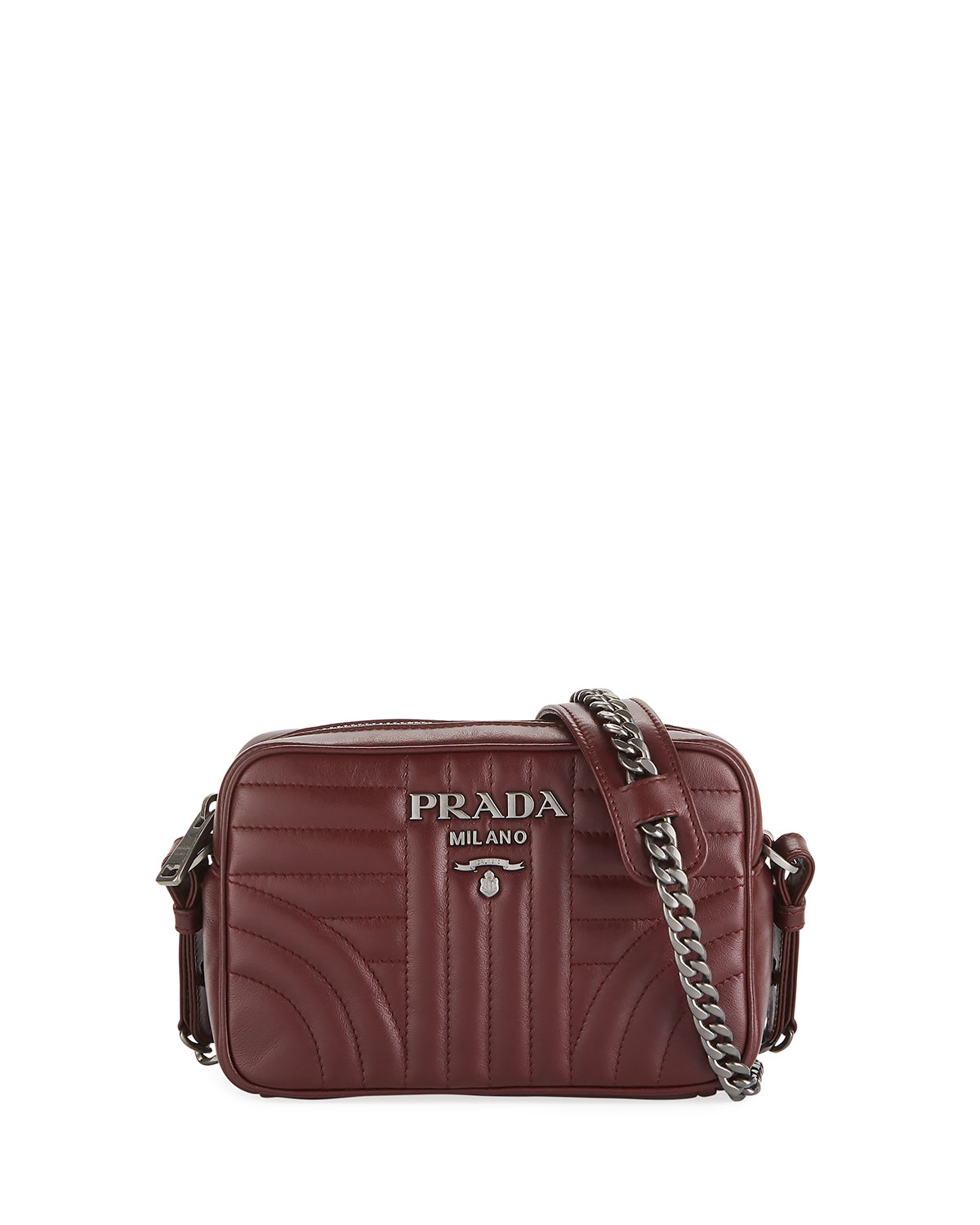 d92fb37b4ee Prada Diagramme Camera Bag