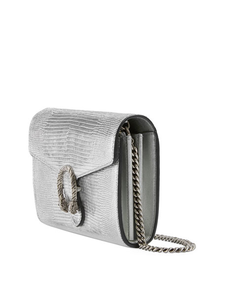 Gucci Dionysus Metallic Chain Crossbody Bag