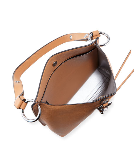 Image 2 of 4: Rebecca Minkoff Megan Small Leather Feed Bag