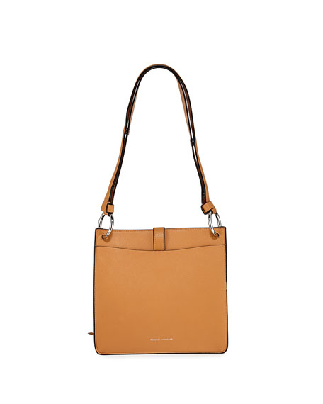 Image 3 of 4: Rebecca Minkoff Megan Small Leather Feed Bag