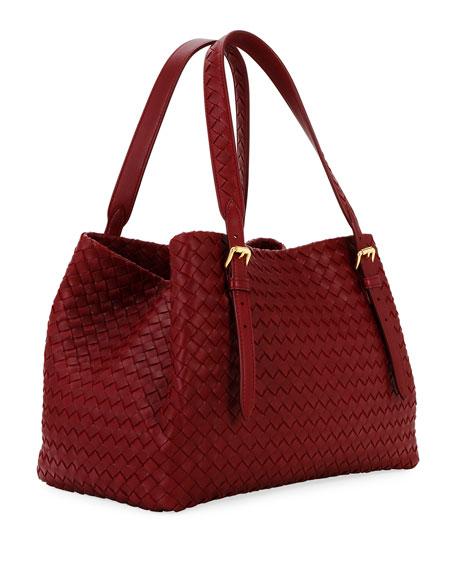 Bottega Veneta Cesta Small Leather Tote Bag