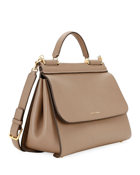 Image 2 of 3: Sicily Soft Top-Handle Bag