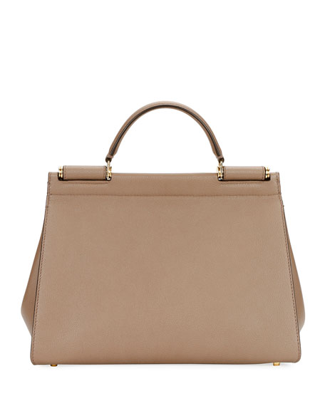 Image 3 of 3: Sicily Soft Top-Handle Bag