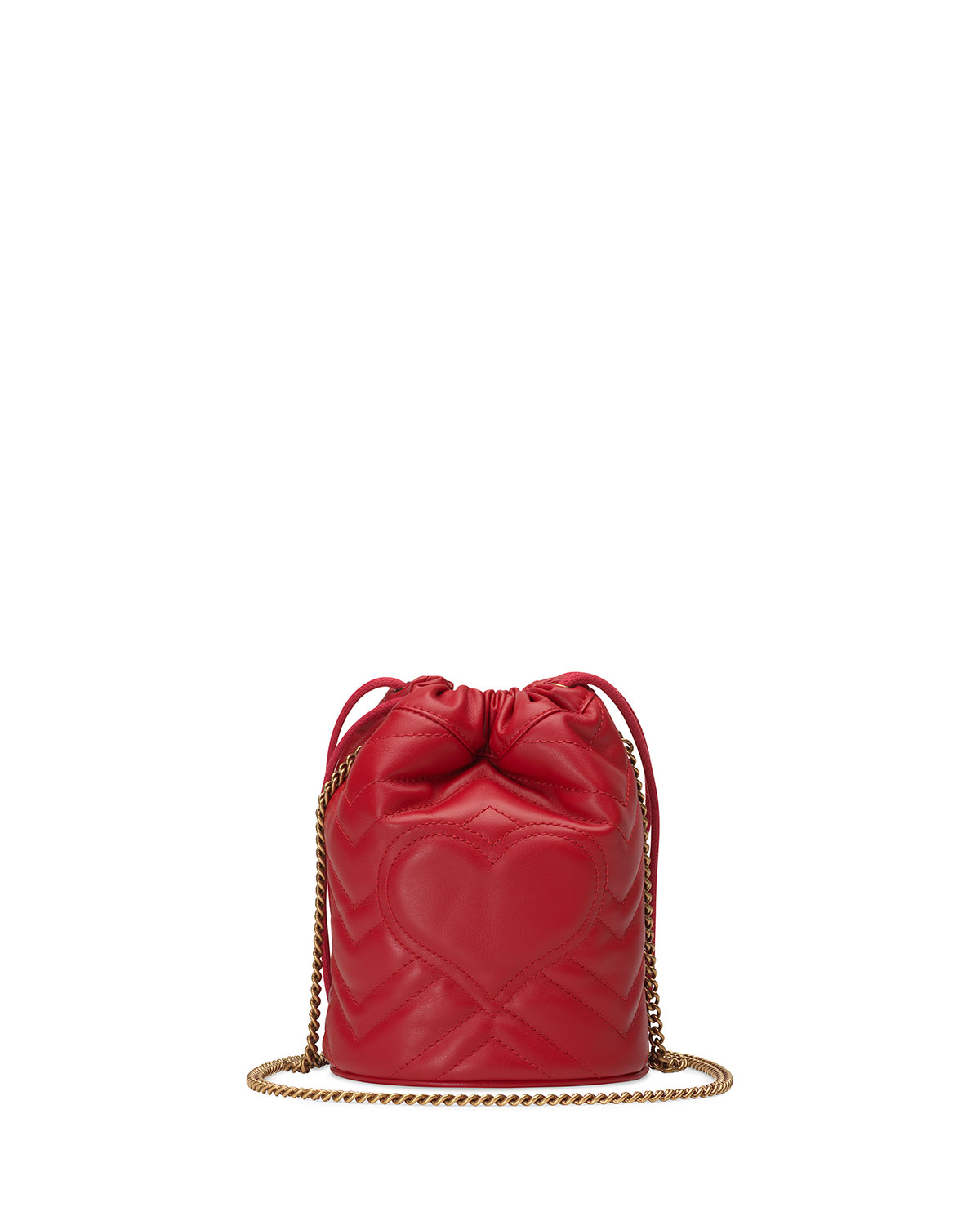 040428a96f GG Marmont 2.0 Mini Leather Bucket Bag