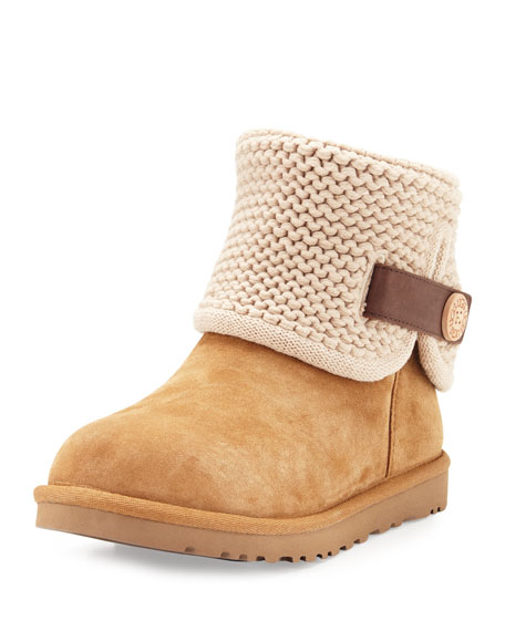 Shaina Convertible Knit Boot