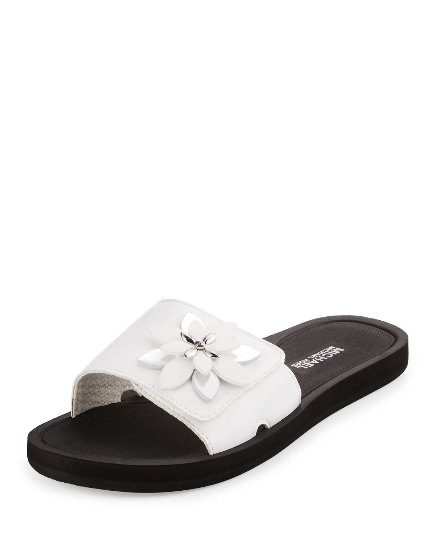 9c093910f5b8 MICHAEL Michael Kors Heidi Floral Slide Sport Sandal