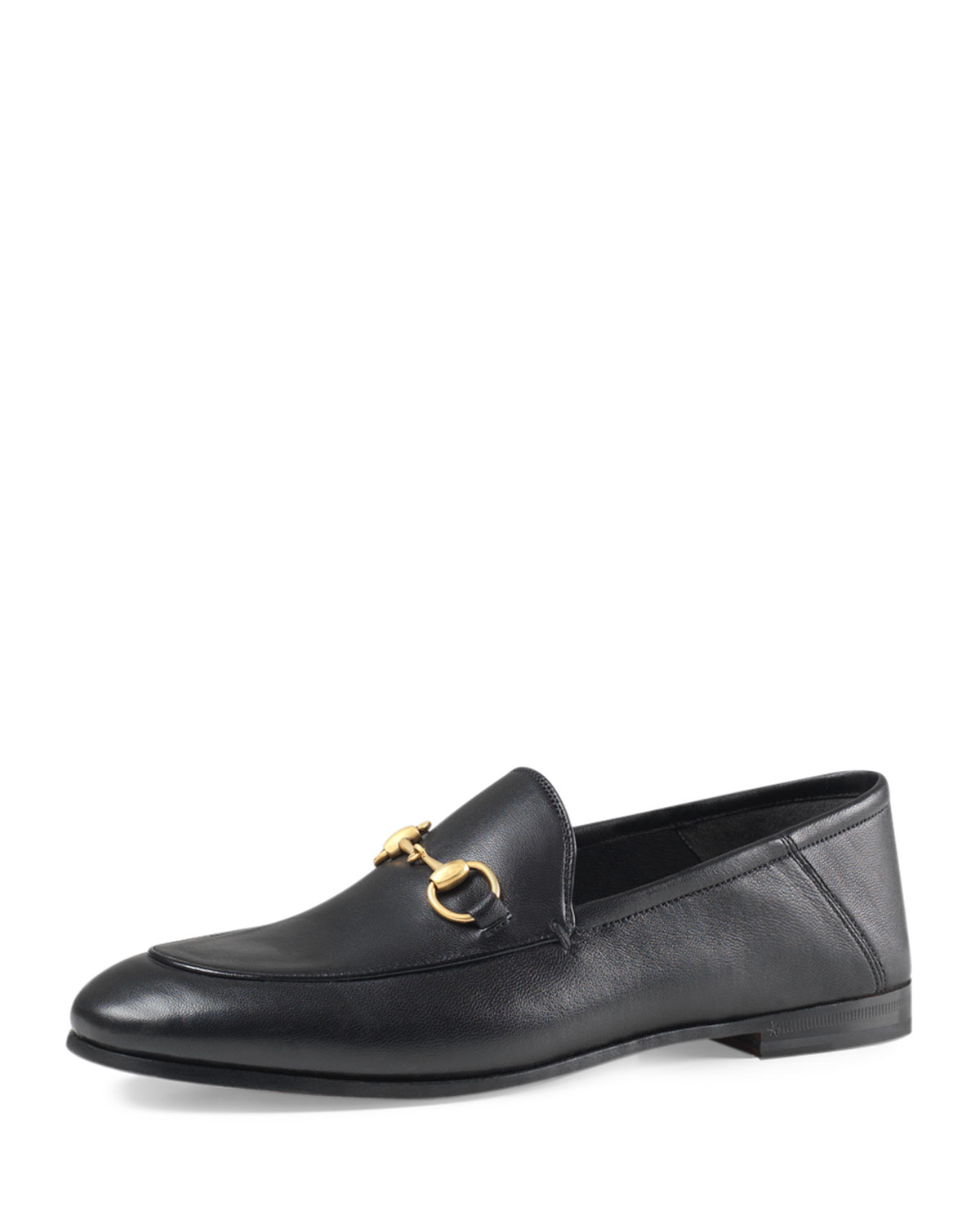 776985561e11 Gucci Brixton Leather Horsebit Loafer