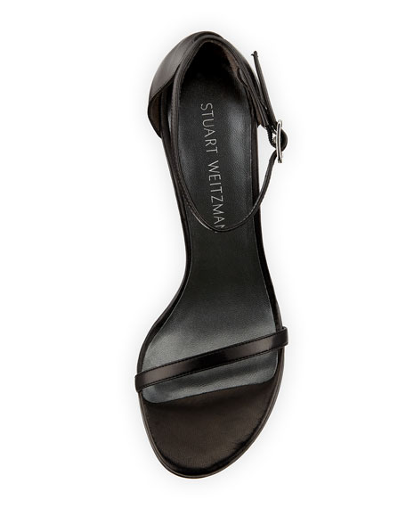 Image 3 of 4: Nudistsong 90mm Minimalist Leather Sandals