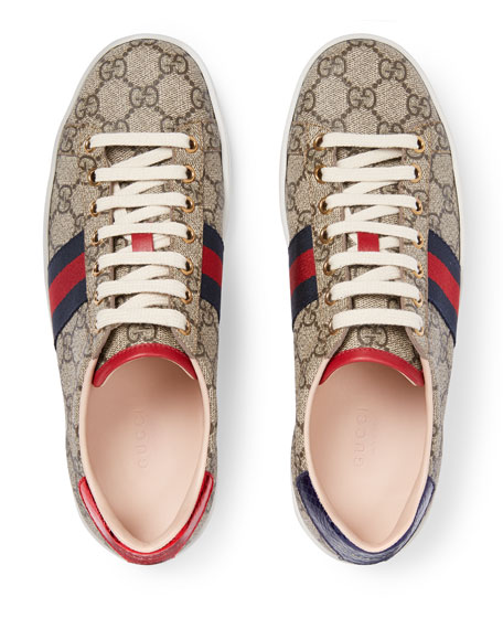 Image 3 of 4: Gucci New Ace GG Supreme Trainer