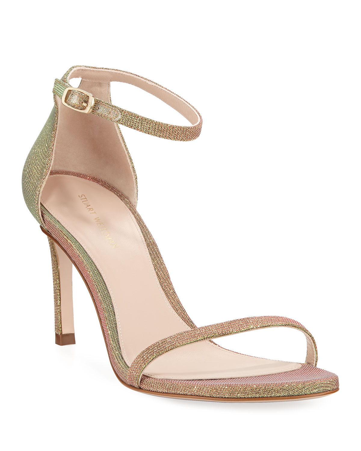 dbe6db2a Stuart Weitzman 75NUDISTTRADITIONAL Night Time Naked Sandals ...