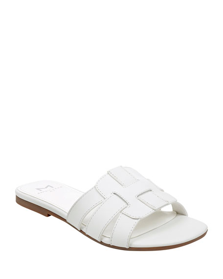 Image 1 of 5: Kayli Flat Slide Sandals