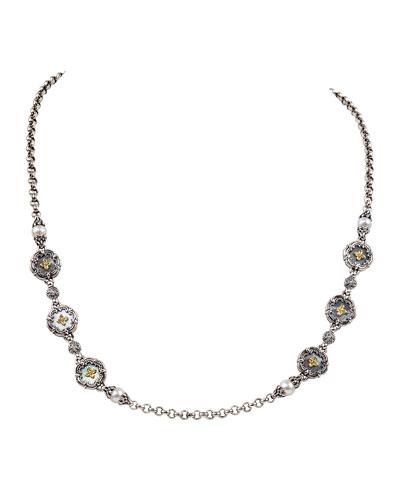 Hestia Station Necklace