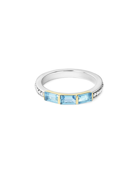 Image 2 of 5: Three-Stone Stacking Ring