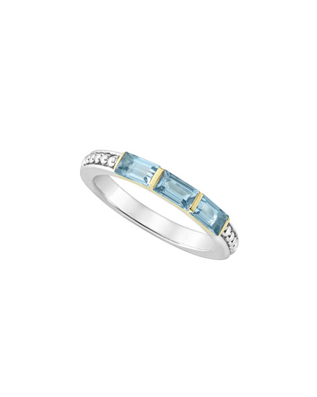Image 1 of 5: Three-Stone Stacking Ring