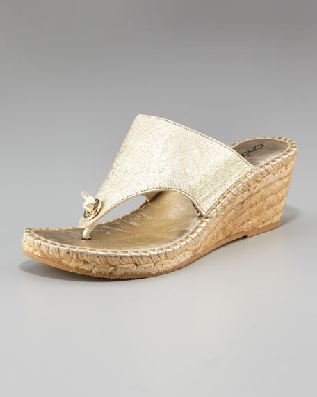 Andre Assous KNOTTED THONG ESPADRILLE