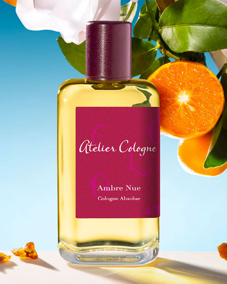 Atelier Cologne Ambre Nue Cologne Absolue, 200 mL with Personalized Travel Spray, 30 mL