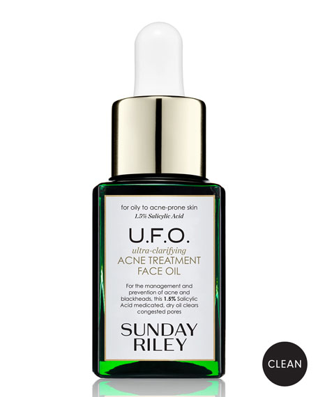 Sunday Riley Modern Skincare U.F.O. Ultra-Clarifying Acne Treatment Face Oil, 0.5 oz./ 15 mL<br>