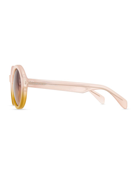 MARC by Marc Jacobs ROUND BICOLOR SUNGLASS