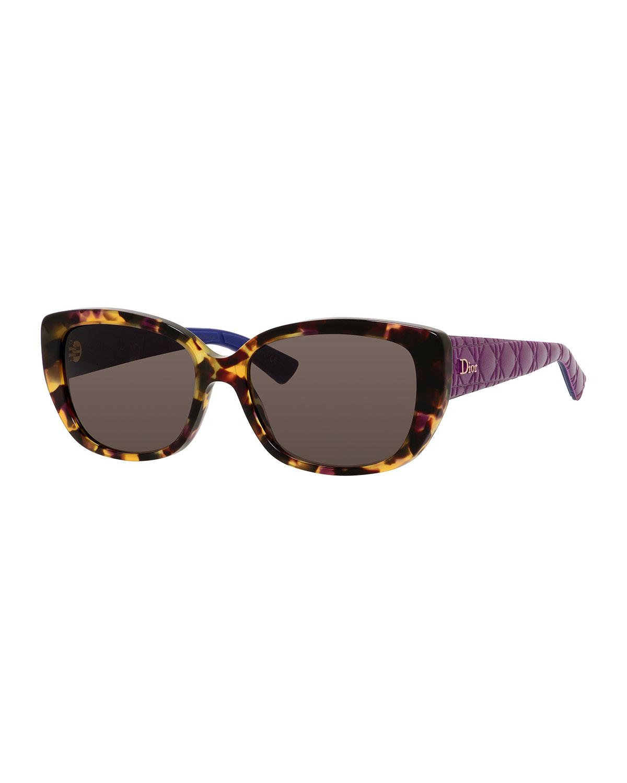 25b77104f636 Dior Lady 2 Cat-Eye Sunglasses