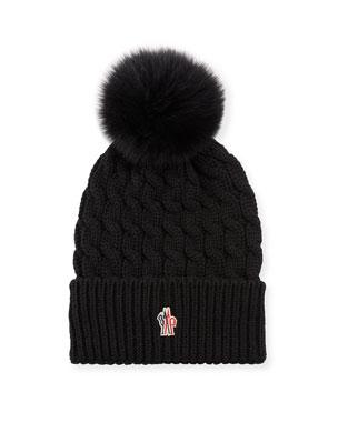 eccd4a5b7 Moncler Beanie Hats & Accessories at Neiman Marcus