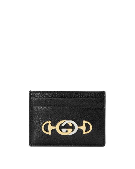 Gucci Cases Gucci Zumi Leather Card Case