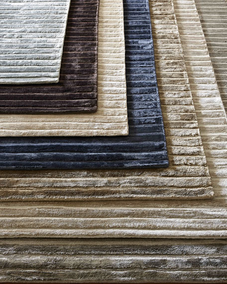 Image 1 of 3: Exquisite Rugs Glistening Ridge Rug, 8' x 10'