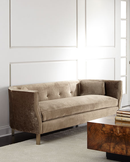 Betsey Button-Tufted Sofa 84""