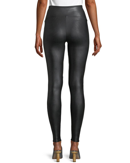 Image 2 of 4: Ready-to-Wow™ Faux-Leather Leggings
