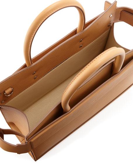 Horizon Small Leather Tote Bag