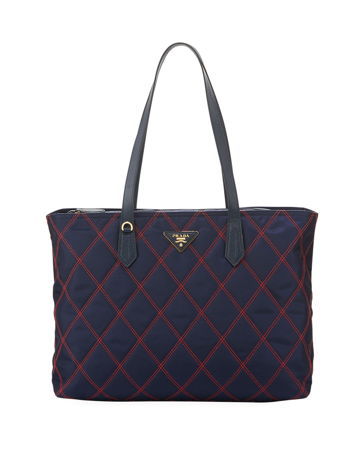 a8b2ca6283 Prada Quilted Nylon Tote Bag