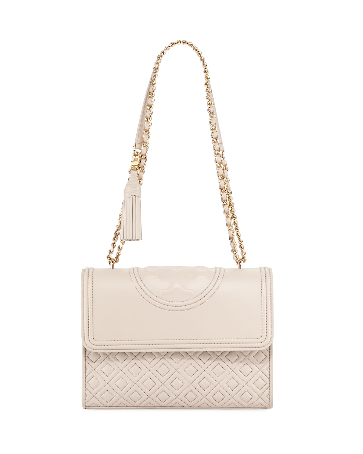 aa40d947b790 Tory Burch Fleming Quilted Convertible Shoulder Bag
