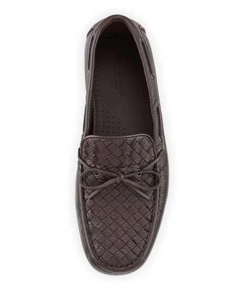 Woven Leather Driver