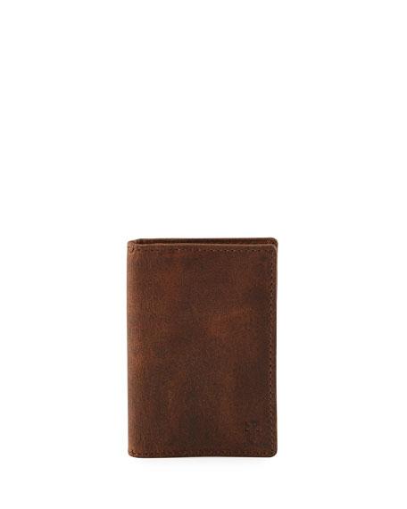 Frye Logan Small Leather Bi-Fold Wallet