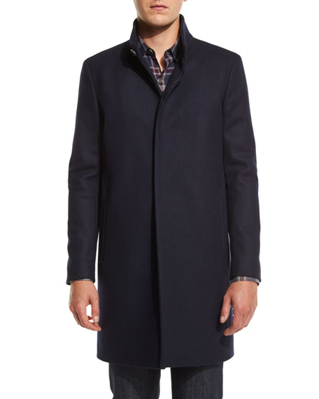 Belvin Single-Breasted Coat