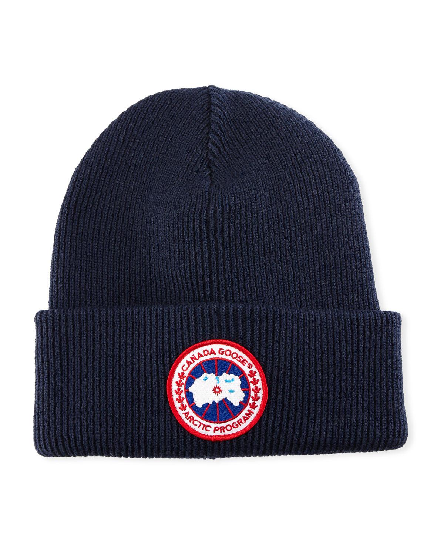 6181dd50138b8 Canada Goose Arctic Disc Toque Knit Beanie Hat
