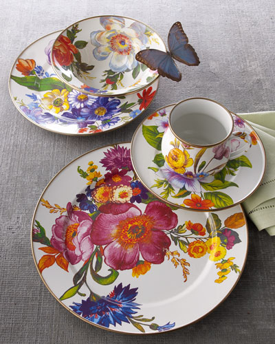 Flower Market Dinnerware