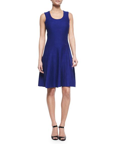 NIC+ZOE Twirl Sleeveless Knit Dress