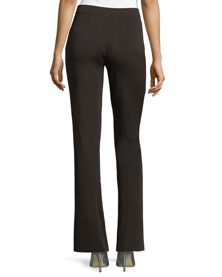 Misook Plus Size Casey Boot-Cut Pants