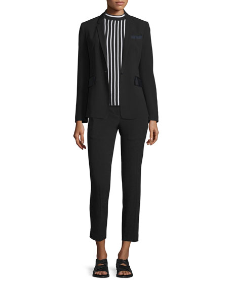 Rag & Bone Windsor One-Button Blazer, Poppy Abstract-Print
