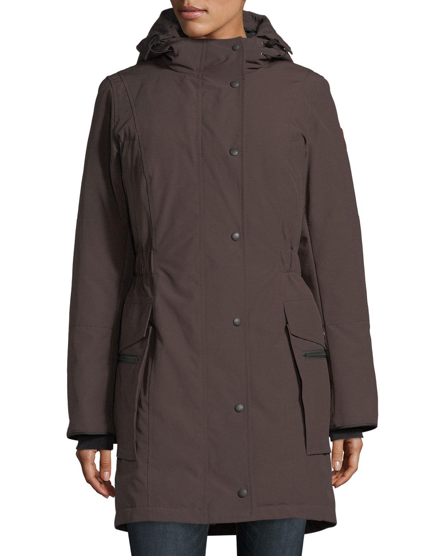 Sears Canada Wedding Gift Registry: Canada Goose Kinley Hooded Cinched-Waist Parka Coat