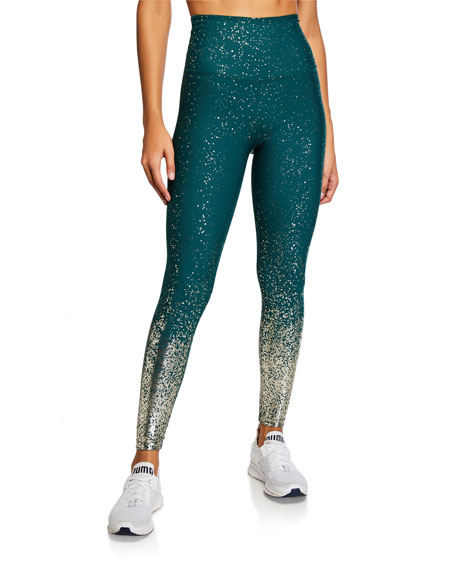 Image 1 of 3: Alloy Ombre High-Waist Midi Legging