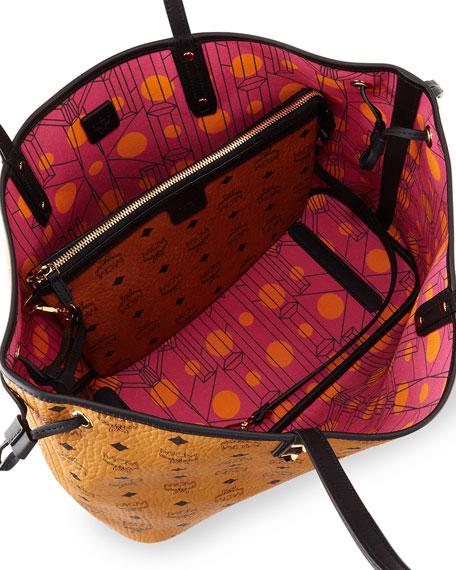 03192ded9fabf MCM Shopper Project Visetos Reversible Tote Bag
