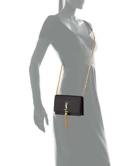 Kate Monogram YSL Tassel Wallet on Chain