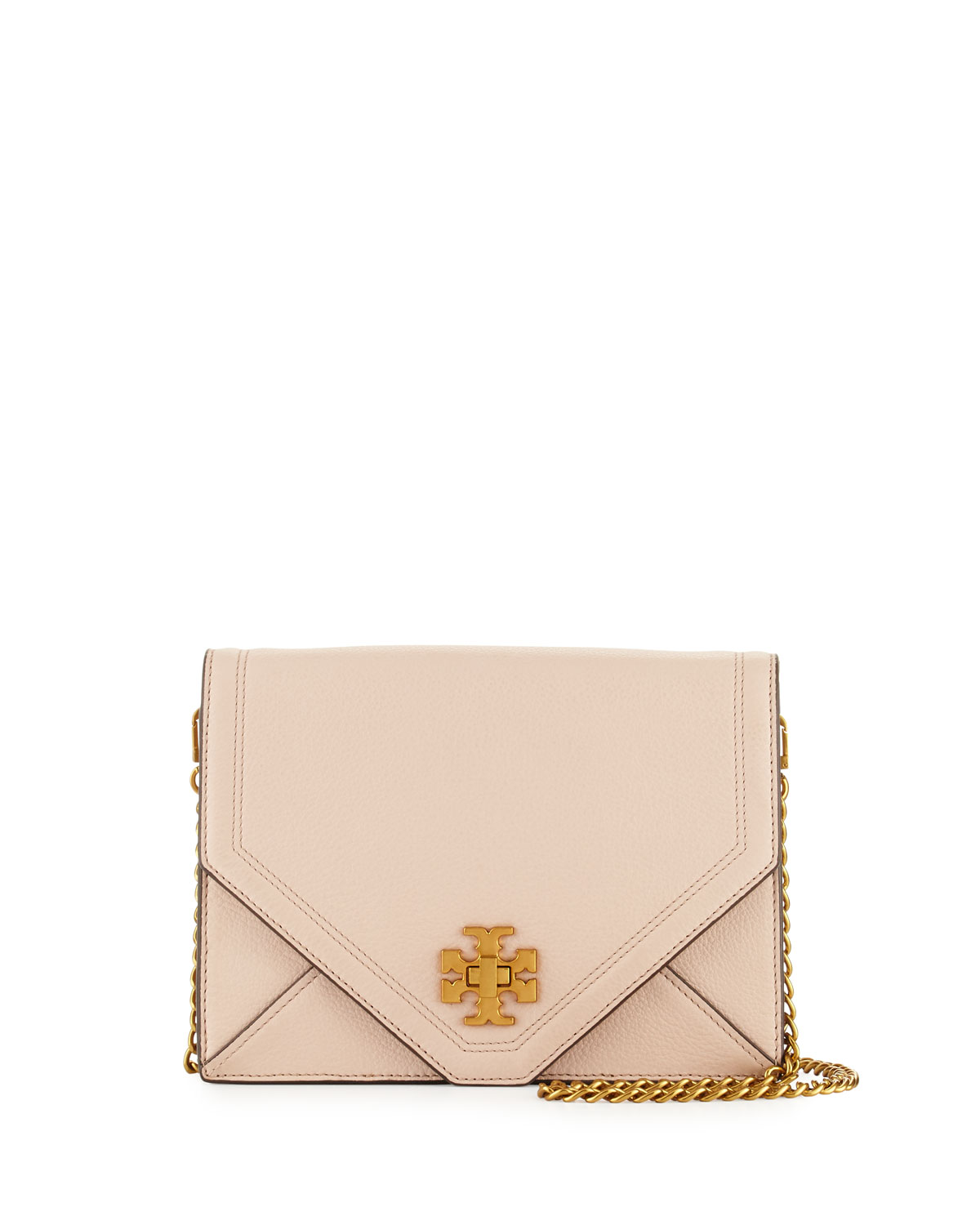 d5651f673e Tory Burch Kira Envelope Leather Crossbody Bag | Neiman Marcus