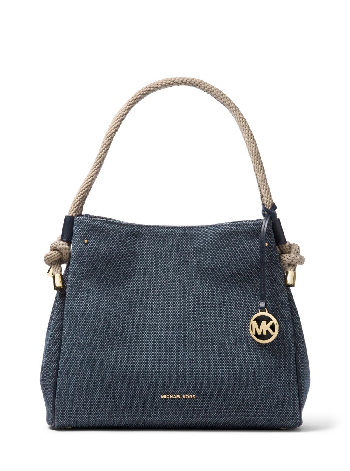 8af45f6e7f8b MICHAEL Michael Kors Isla Large Denim Tote Bag | Neiman Marcus
