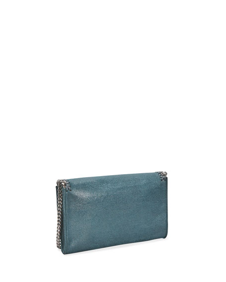 Image 4 of 4: Stella McCartney Falabella Mini Shaggy Deer Wallet on Chain