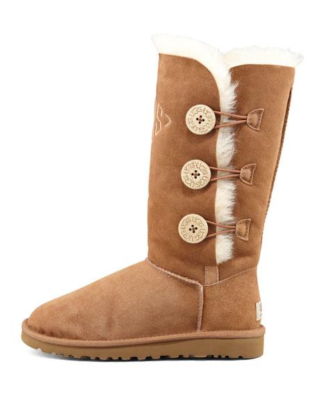 Bailey Button Tall Boot, Chestnut
