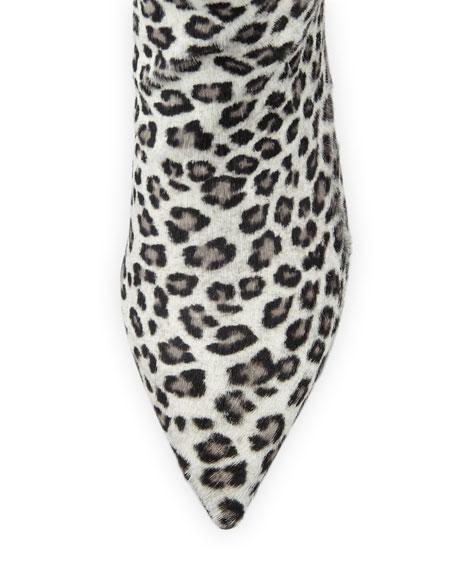 Stuart Weitzman Juniper Leopard Ankle Booties