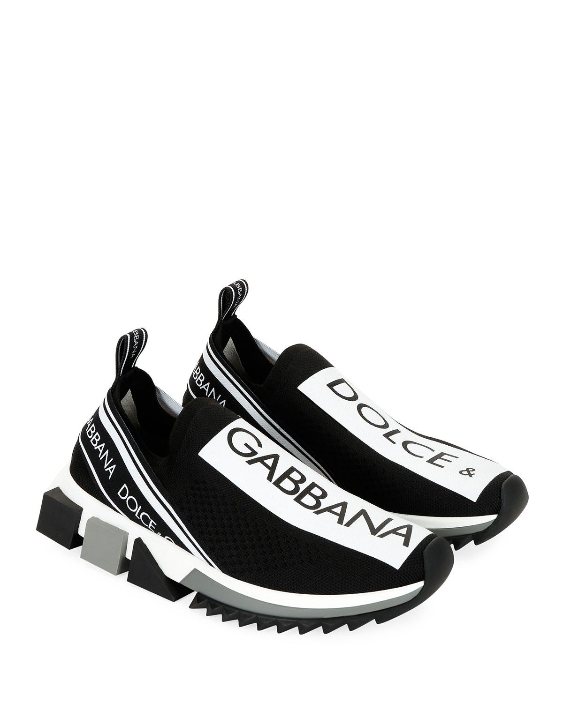 Dolce \u0026 Gabbana Sorrento Knit Trainer
